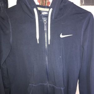 Women's Nike zip up hoodie